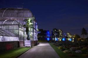 Eclairages jardin botanique de Nantes