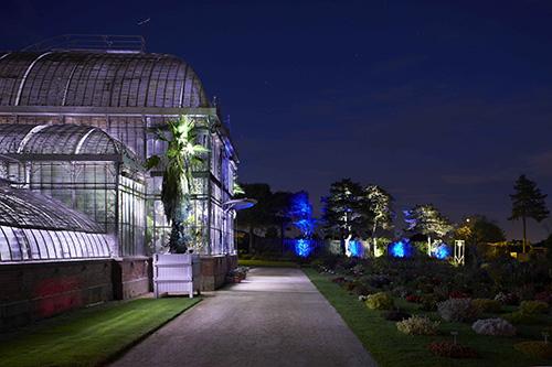 Vfcrp peindre la nuit au jardin des plantes de nantes for Jardin des plantes nantes de nuit