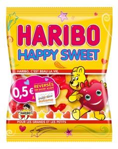 HAPPYSWEET HARIBO POUR FONDATION INITIATIVE AUTISME