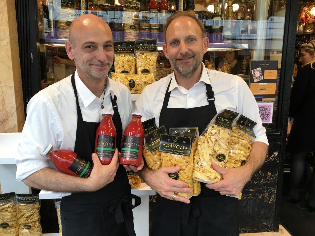 Davoli, c'est l'histoire d'une épicerie fine italienne.
